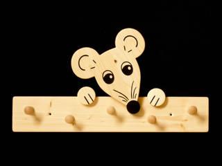 Kindergarderobe Maus von Kanaholz Ausgefallen