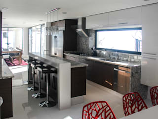 aaestudio Modern kitchen