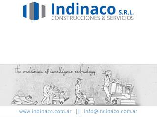 Pulido y Termo Vitrificado de Pisos Livings modernos: Ideas, imágenes y decoración de Indinaco srl Construcciones y servicios Moderno