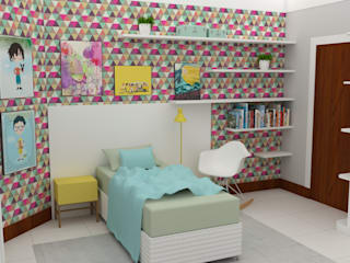 Arquiteto Virtual - Projetos On lIne Moderne kinderkamers