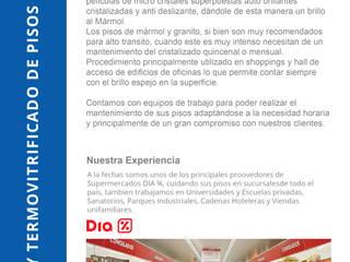 Pulido y Termo Vitrificado de Pisos de Indinaco srl Construcciones y servicios