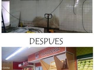 Reforma Integral Supermercadista de Indinaco srl Construcciones y servicios