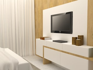 Arquiteto Virtual - Projetos On lIne Modern style bedroom