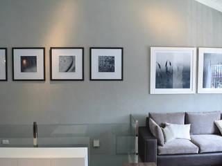 Remodelacion PH / Pent House Salones rústicos rústicos de Estudio Nicolas Pierry Rústico