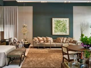 Decora Lider Campinas - Loft masculino Quartos modernos por Lider Interiores Moderno