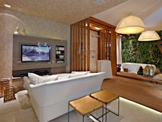Baños modernos de Mariana Borges e Thaysa Godoy Moderno