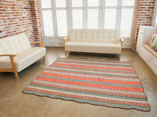쉬즈가 Walls & flooringCarpets & rugs Cotton Orange