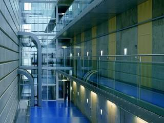 Kraftwerk Freudenau Industriale Bürogebäude von Albert Wimmer ZT GmbH Industrial