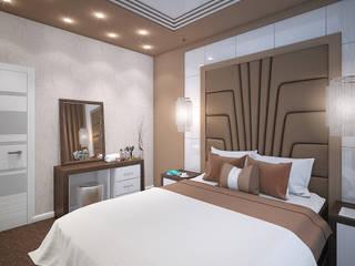 Дизайн спальни в Туле: Спальни в . Автор – Алина  Насонова