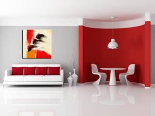 Tableau abstrait Vidal:  de style  par HEXOA