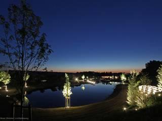 OC|Lichtplanung Giardino in stile mediterraneo