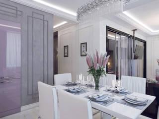現代廚房設計點子、靈感&圖片 根據 Volkovs studio 現代風
