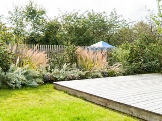 Wohnhausanlage Lorettoplatz: moderner Garten von Kräftner Landschaftsarchitektur