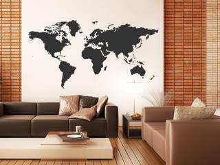 Wandtattoo Weltkarte:   von Designscape Creative GmbH