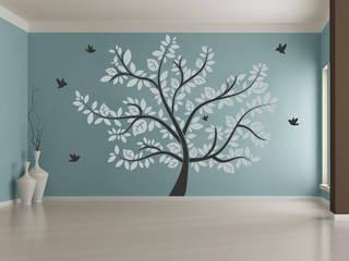 Wandtattoo großer Baum: modern  von Designscape Creative GmbH,Modern