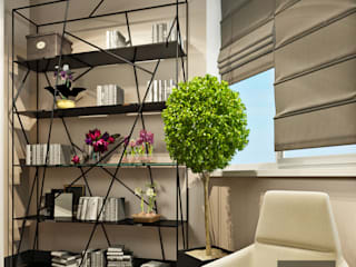 Salle multimédia de style  par Studio Eksarev & Nagornaya, Éclectique