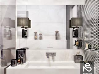 Salle de bains de style  par Studio Eksarev & Nagornaya, Éclectique