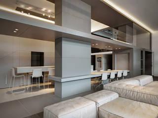 Villa T Soggiorno moderno di arkham project Moderno