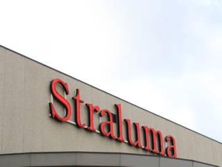 Onze 7.500m2 grote showroom in Barendrecht:   door Straluma BV