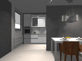 Projekt : styl , w kategorii Kuchnia zaprojektowany przez WRONA STUDIO