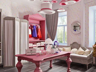 Dressing room by Studio Eksarev & Nagornaya