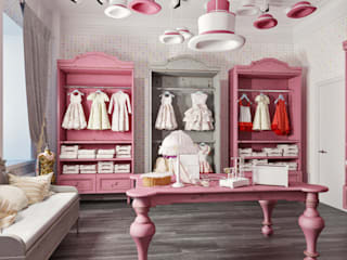 Dressing room by Studio Eksarev & Nagornaya, Classic