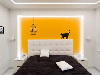 Квартира на улице Маршала Малиновского. Реализация Спальня в стиле минимализм от Rustem Urazmetov Минимализм