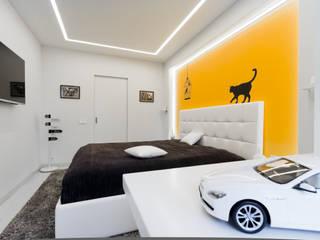 Квартира на улице Маршала Малиновского. Реализация: Спальни в . Автор – Rustem Urazmetov