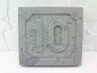 Número tallado:  de estilo  de labrArte - Artesanía Canaria