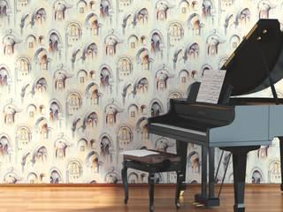 Bir hikayesi var... Modern Duvar & Zemin HannaHome Dekorasyon Modern