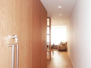 Ingresso & Corridoio in stile  di EMF arquitetura