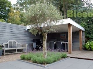 Moderner Garten von Biesot Modern
