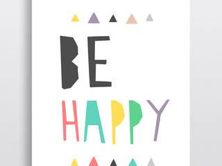 Be happy od boombom Nowoczesny