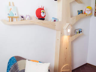 L'Albero di Noah: Albero Mensola per camerette di I Forestelli Rustico