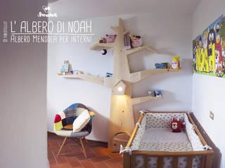 L'Albero di Noah: Albero Mensola per camerette:  in stile  di I Forestelli