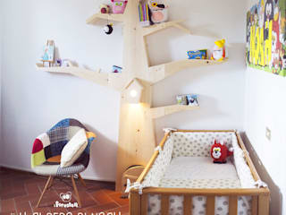 I Forestelli Nursery/kid's roomWardrobes & closets Solid Wood Wood effect
