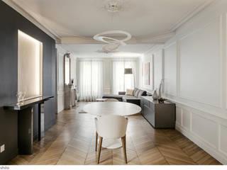 Minimalistische woonkamers van claire Tassinari Minimalistisch