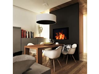 ARCHWOOD, дизайн-бюро Scandinavian style dining room Wood Black