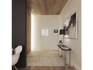 Уютная трансформация Коридор, прихожая и лестница в скандинавском стиле от ARCHWOOD, дизайн-бюро Скандинавский
