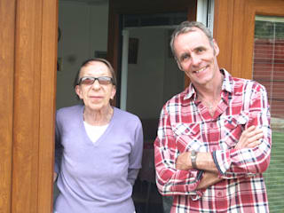 Irene with Alex Booth - Alex founded Booths Garden Studios in the year 2000:  Garden by Booths Garden Studios