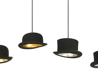 Jeeves and Wooster Pendant Lights:   by Jake Phipps