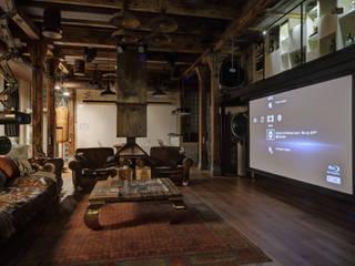 industrial Living room by Lev Lugovskoy