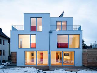 Gerokstraße:  Häuser von MuG Architekten
