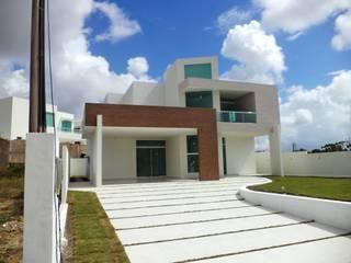 Residência: Casas  por Escritório de arquitetura Rubens Duarte Arquiteto