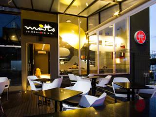 Gastronomía de estilo moderno de Mariana Borges e Thaysa Godoy Moderno