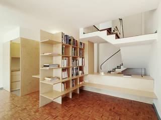 Espaços de trabalho minimalistas por homify Minimalista