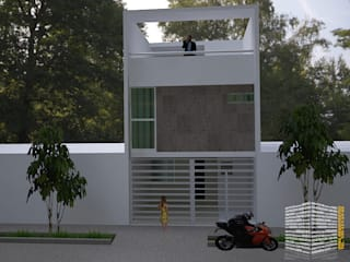 Rumah oleh HHRG ARQUITECTOS, Minimalis