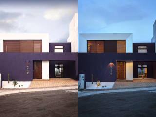 DÍA Y NOCHE: Casas de estilo  por Región 4 Arquitectura