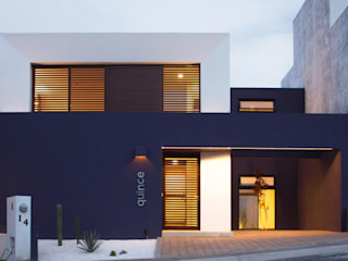 FACHADA PRINCIPAL Casas minimalistas de Región 4 Arquitectura Minimalista