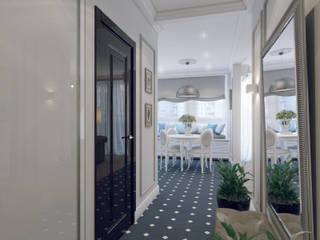 Ingresso, Corridoio & Scale in stile classico di Volkovs studio Classico